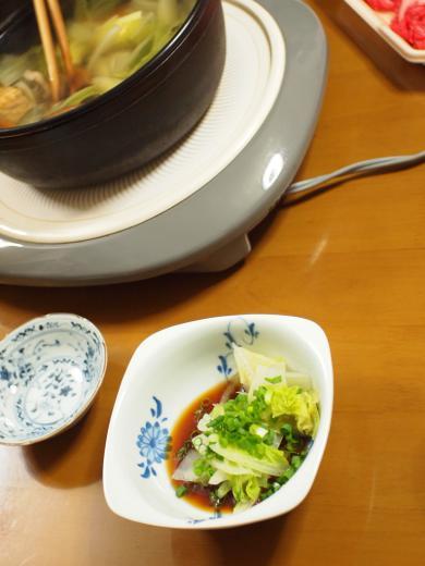 2012年10月2日夕食