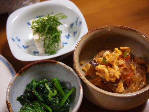 2012年10月23日夕食