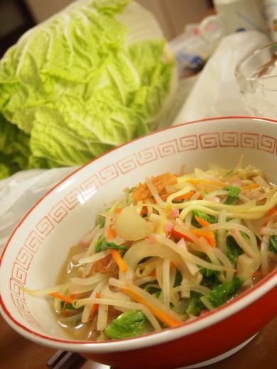 白菜チャンポン