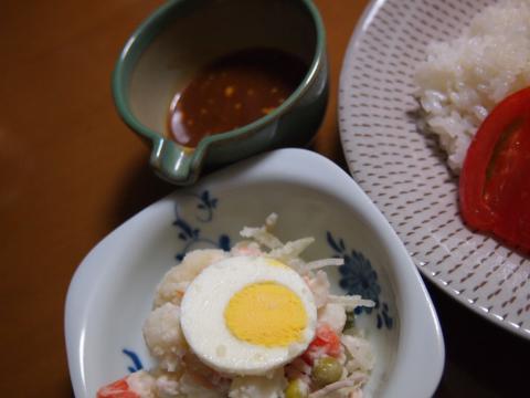 2012年10月30日夕食