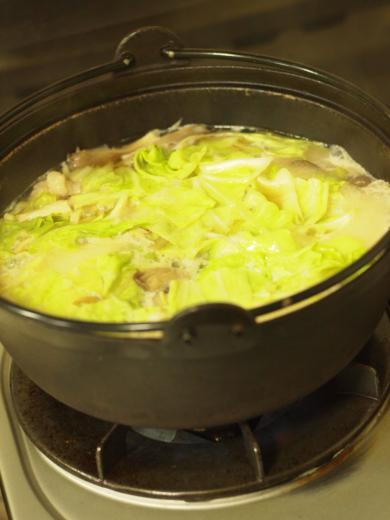 2012年11月6日夕食