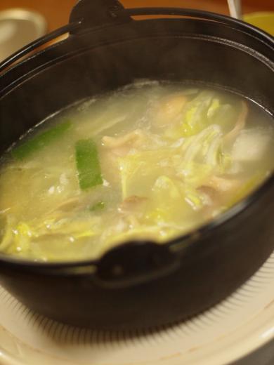 2012年11月8日夕食