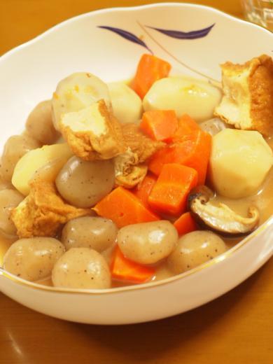 2012年11月21日夕食