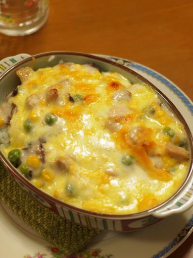 2012年12月8日夕食