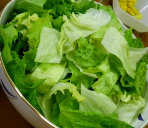 2012年7月21日夕食