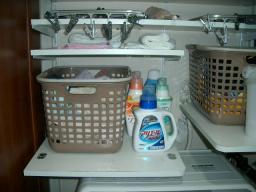 自作洗濯機ラック