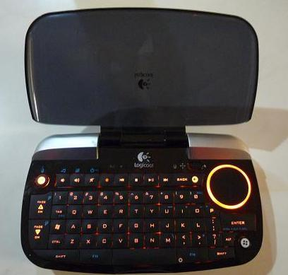 【ホームIT】 後付リビングパソコン向け「ジョイスティック型ポインタ付きキーボード」!
