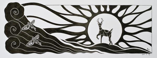 屋久島在住10年目の野生動物研究家・画家