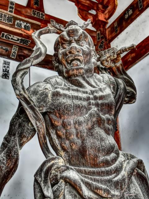 石山寺の御神像