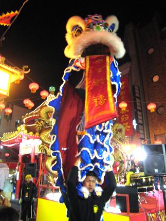春節祭獅子舞01