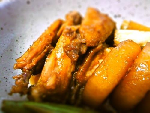 鶏の黒酢煮2