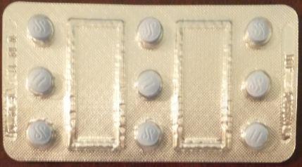 サウジの薬AERIUSタブレット表