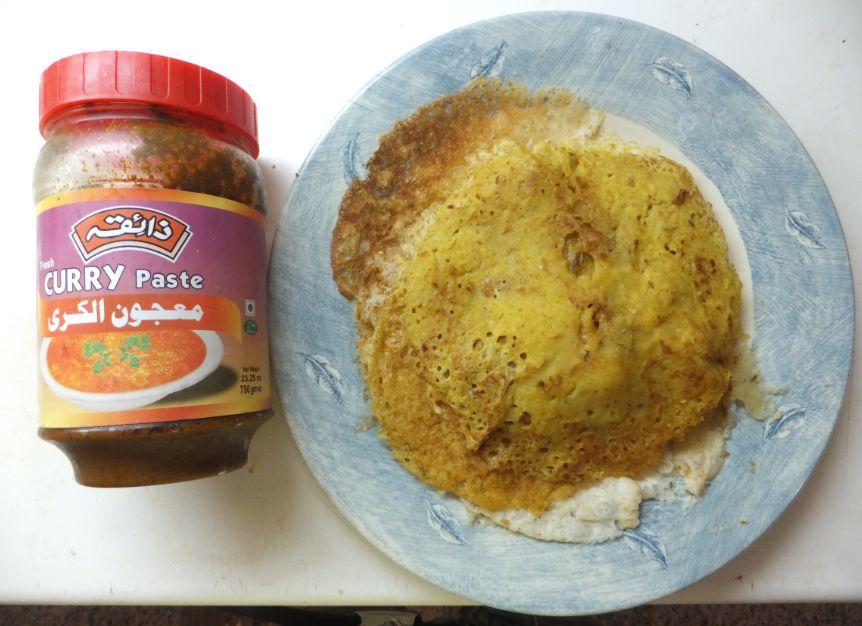 RAVA DOSAI curry