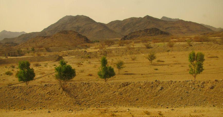 AlQablyah付近