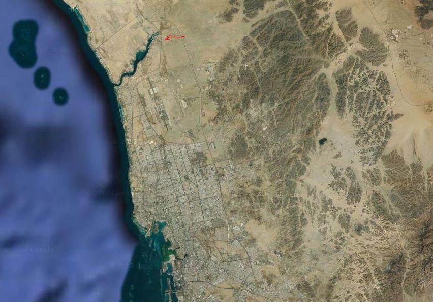 モニュメント巨大ラクダ衛星写真3
