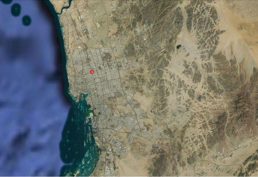 モニュメント巨大自転車地図3