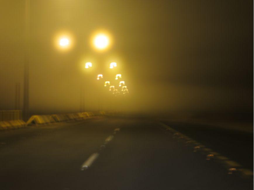 サウジの霧
