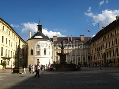 プラハ城 第二の広場
