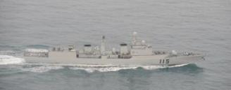 22410 日本海上自衛隊拍攝的中國艦隊穿越日本諸島照片