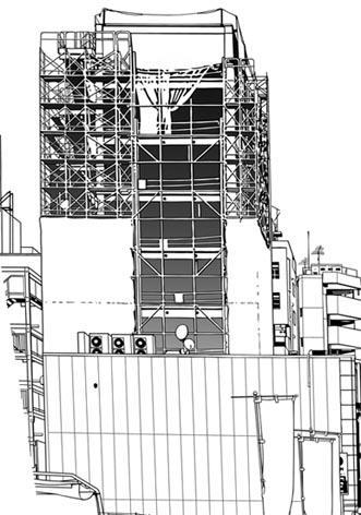 漫画背景・池袋建設ビル