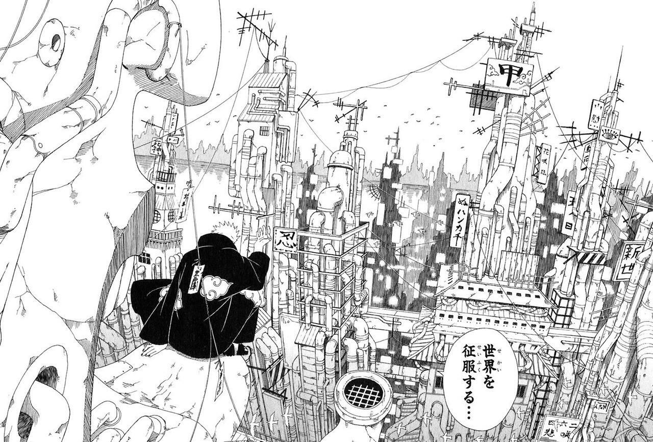 NARUTO -ナルト- 登場キャラクター強さランキング …