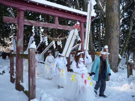 平笠裸参り02(2010.1.8)