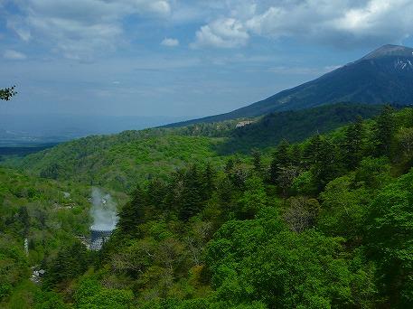 松川大橋からの景色(2010.6.2)