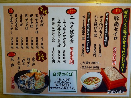 菜の豚南セイロ11(2010.7.4)