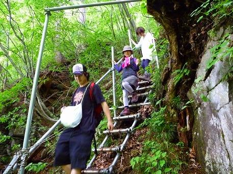智恵の滝探検隊52(2010.7.19)