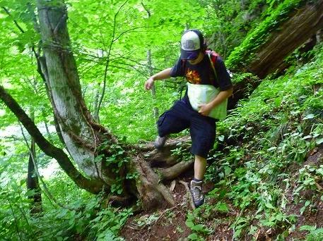 智恵の滝探検隊53(2010.7.19)