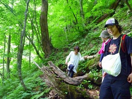 智恵の滝探検隊55(2010.7.19)
