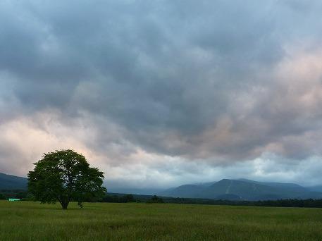 上坊牧野からの夕焼け04(2010.7.23)