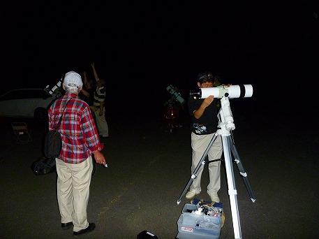 星空観察会09(2010.8.13)