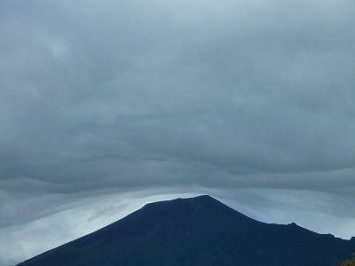 上坊牧野の岩手山02(2010.9.14)
