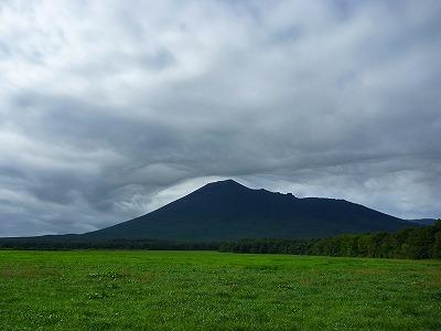 上坊牧野の岩手山04(2010.9.14)
