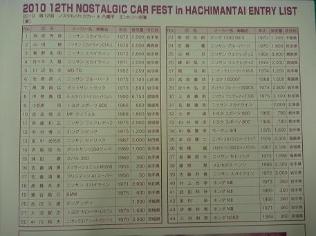 ノスタルジックカーin八幡平32(2010.9.19)