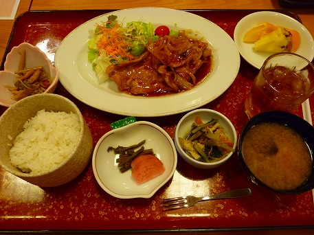ハイツ 杜仲茶ポーク生姜焼き04(2010.10.22)