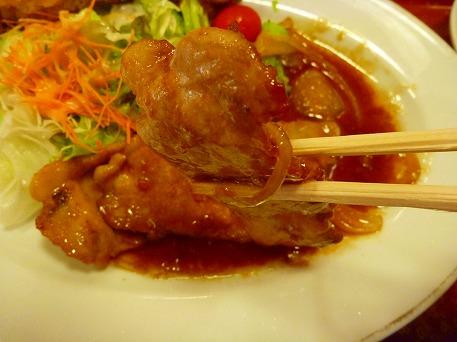 ハイツ 杜仲茶ポーク生姜焼き06(2010.10.22)