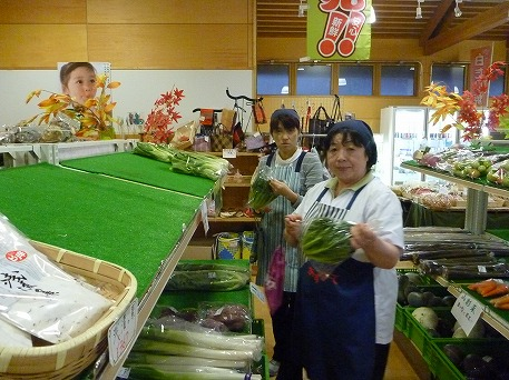 中軽米さんの辛味大根01(2010.11.8)