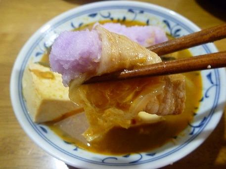 中軽米さんの辛味大根12(2010.11.8)