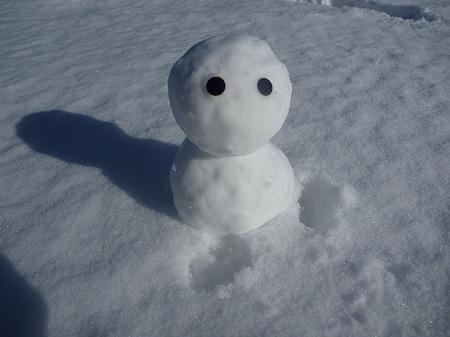 雪だるまん1号05(2010.12.17)