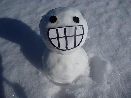 雪だるまん1号06(2010.12.17)