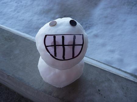 雪だるまん1号08(2010.12.17)