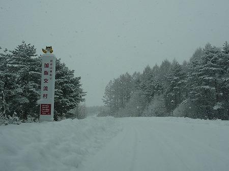 冬の焼走り熔岩流01(2010.12.27)