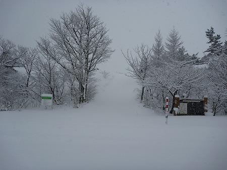冬の焼走り熔岩流05(2010.12.27)