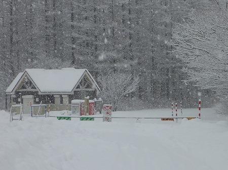 冬の焼走り熔岩流04(2010.12.27)