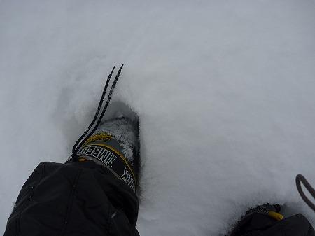 冬の焼走り熔岩流07(2010.12.27)