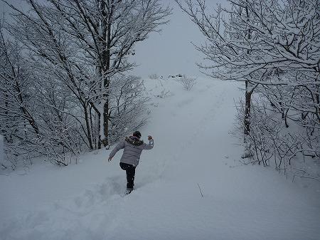 冬の焼走り熔岩流06(2010.12.27)
