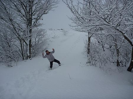 冬の焼走り熔岩流11(2010.12.27)