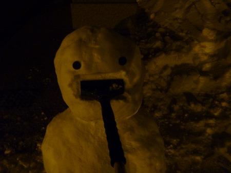 雪だるまん4号09(2010.12.28)